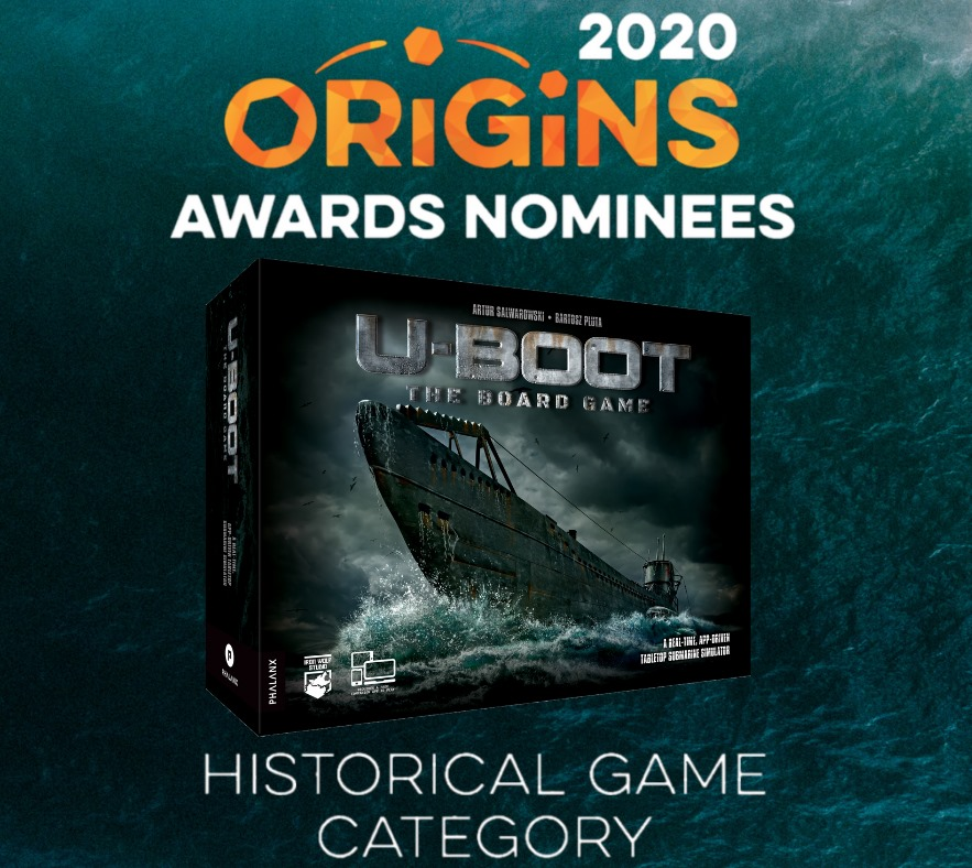 Origins 2020 awards U-Boot The Board Game
