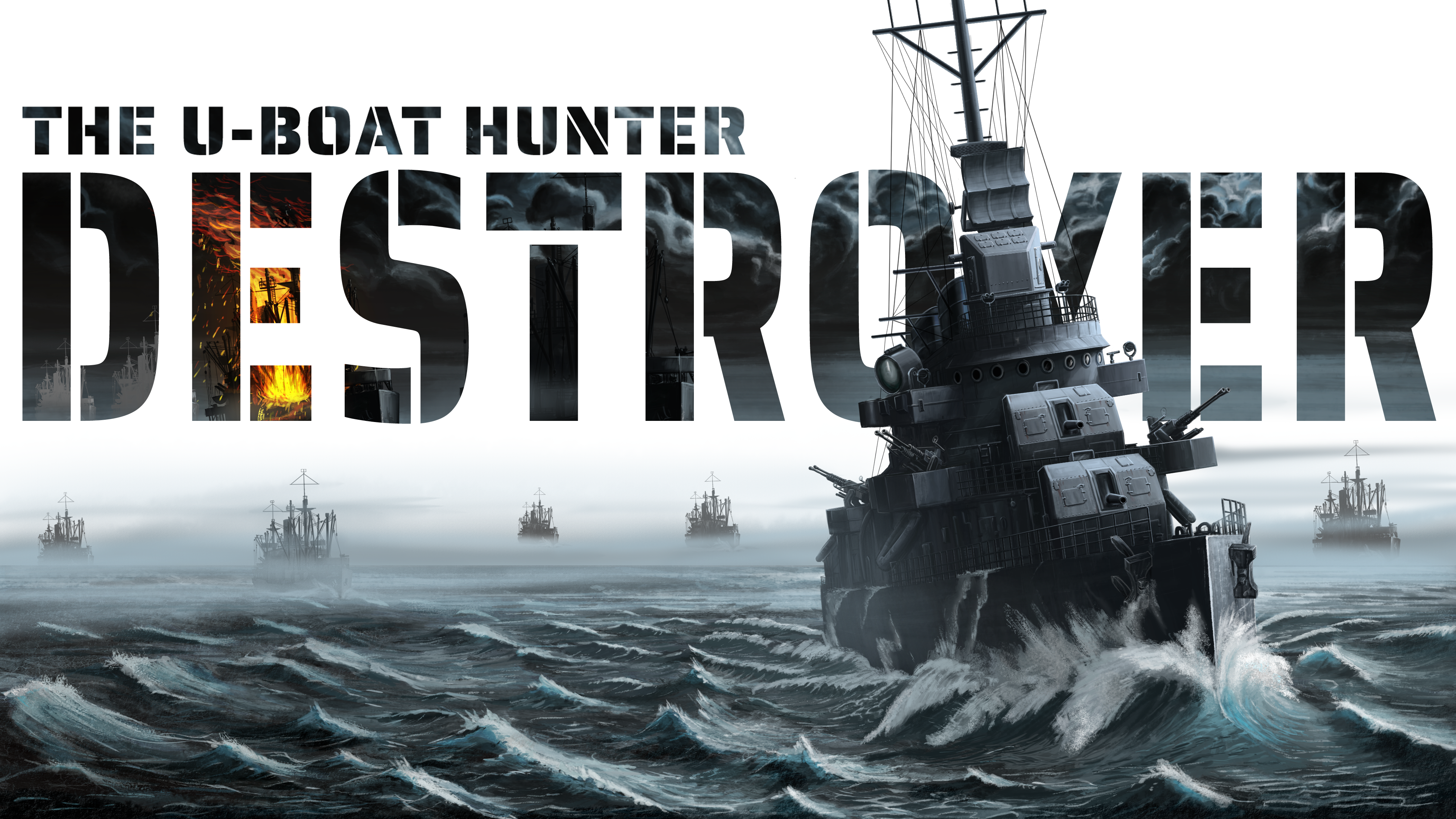 DESTROYER The Uboat Hunter by Iron Wolf Studio